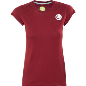 Edelrid Highball - T-shirt manches courtes Femme - rouge